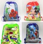 Zest 4 Toyz Cartoon Printed Kids Pack Of 12 Haversack - Birthday Party Return Gift (Boys)
