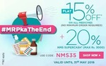 Netmeds - 20% discount + 15%Cashback with freecharge wallet
