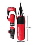 SportSoul Kid's Boxing Set (Punching Bag, Gloves & Headgear)