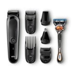 Braun MGK3060 - 8-in-One Multi Grooming and Trimmer Kit (Black)