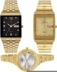 Combo of 3 beautiful watches at amazing price