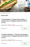 Burger King now on EasyDiner (prepaid deal, 32% off)
