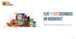 Bigbasket - Flat 100 cashback on minimum shopping of 800 through freecharge