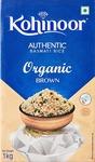 Amazon : Kohinoor Organic Basmati Brown Rice, 1 Kg
