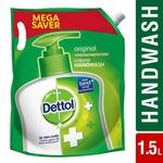 Dettol Liquid Original Refill Hand Wash - 1.5 L (Pantry)