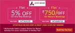 My taxi india : Flat Rs 750 off on return trips via Axis bank cards and net banking
