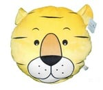 Soft Buddies Tiger Face Playtoy, Yellow
