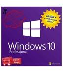 Microsoft Windows 10 Professional 64 Bit ( Activation Card )