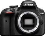 Nikon D3400 DSLR Camera Body with Single Lens: AF-P DX NIKKOR 18-55 mm f/3.5-5.6G VR Kit (16 GB SD Card + Camera Bag) (Black)