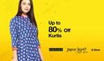 upto 80% off kurtis+ additional Cashback