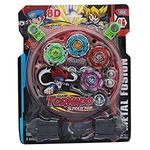 JVM Bayblade Toy set with Ripchord Launcher (4 Blade)