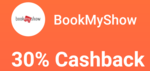 Flat 30% LazyPay cashback upto Rs.125/- on 1 transaction per user via LazyPay on BookMyShow