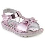 DISNEY PRINCESS Girls Velcro Flats  (Pink)