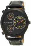 Giordano Chronograph Multi-Colored Dial Men's Watch - 60068 Black/Yellow