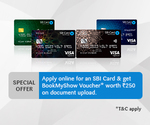 Apply online for SBI card and get 250rs. BookMyShow voucher on Document Upload