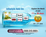 Videocon : d2h Khushiyon Ka Weekend Offer | Infostyle Add on | Re. 1 for 30 days