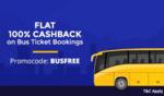 Paytm :- Get 100% cashback upto 125₹ on Bus Booking