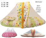 Unisex Baby Mosquito Net with Bed Toddler Mattress & Pillow at Rs.277