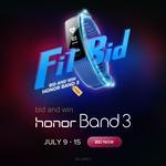 Bid and Win - Honor 3 Band