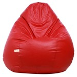 Sattva XXXL Bean Bag (Red)