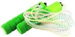 Blossom Skipping Rope with Counter (Upto 999) & Rubber Grip for Exercise & Fitness, Multi Color