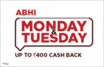 Abhi Tuesday - Upto Rs.400 Cash Back on Bus Booking using Amazon