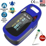 Dr Trust (USA) Professional Series Finger Tip Pulse Oximeter With A
