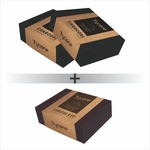 Trycone Handmade Activated Charcoal 2 Soap With 1 Chocolate Soap 100 gm Pack Of 3 Soap