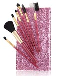 Foolzy BR-16B Professional Makeup Brushes Kit, Purple (Set of 7) - Amazon || Next best Rs.340
