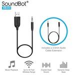 SoundBot SB343 Car Bluetooth Adapter (Black)