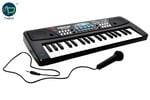 Toykart 37 Key Piano Keyboard Toy with DC Power Option, Recording and Mic for Kids - 2018 Latest Model