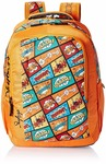 Skybags Polyester 30 Ltrs Orange Casual Backpack at Rs.784