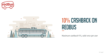 Get 10% cashback when you pay with Freecharge on Redbus upto 75/-