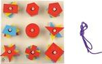 Skillofun Nine Shape Sorter  (Multicolor)