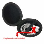 ELV Protective Case For Earphone, Headset, Adapter & Sd Cards - Jet Black
