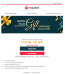 GET RS.100 OFF ON RS.500 (Account Specific)