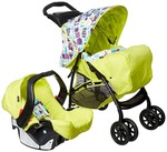 Graco Travel System Mirage Plus Toy Town (Green)