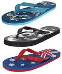 ORICUM Men Combo of 3 Casual (Flip-Flops & House Slipper)