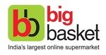 Up to Rs.200 cashback when you pay using Paytm at Bigbasket