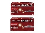 Colgate Visible White Toothpaste - 200 g Saver Pack (Pack of 2)