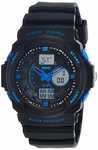 SKMEI Analog-Digital Multi-Colour Dial Men's Watch - AD0955 (BK Blue)