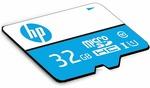 HP 32GB Class 10 MicroSD TF Memory Card (Blue)