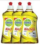 Dettol Kitchen Gel - 400 ml (Lemon, Pack of 3)