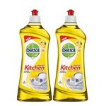 Dettol Kitchen Dish and Slab Gel Lemon Fresh - 750 ml (Pack of 2)