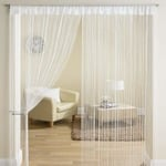 Flat 81% Off: Exporthub Beautiful Polyester Door String Curtain 7ft At Rs.225