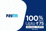 Ticketnew - 50% cashback upto 150 with Paytm (applicable on cinemas in Kerala)