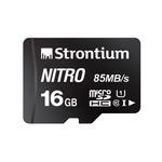16Gb class 10 Micro SD Strontium