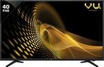 [ LOWEST THAN LAST FPD ]    Vu 102cm (40 inch) Full HD LED TV  (40D6575)