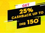 Bookmyshow - 25% cashback upto 150 with lazypay