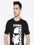 Celio Star Wars Men Black Printed Star Wars T-shirt